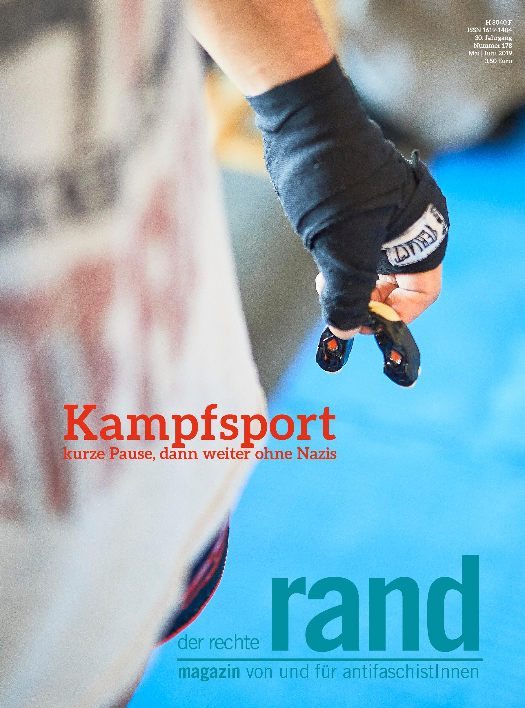 3. Weg, 1. Mai, Kampfsport, runter von der Matte, AfD Flügel, Bundeswehr, Hanibal