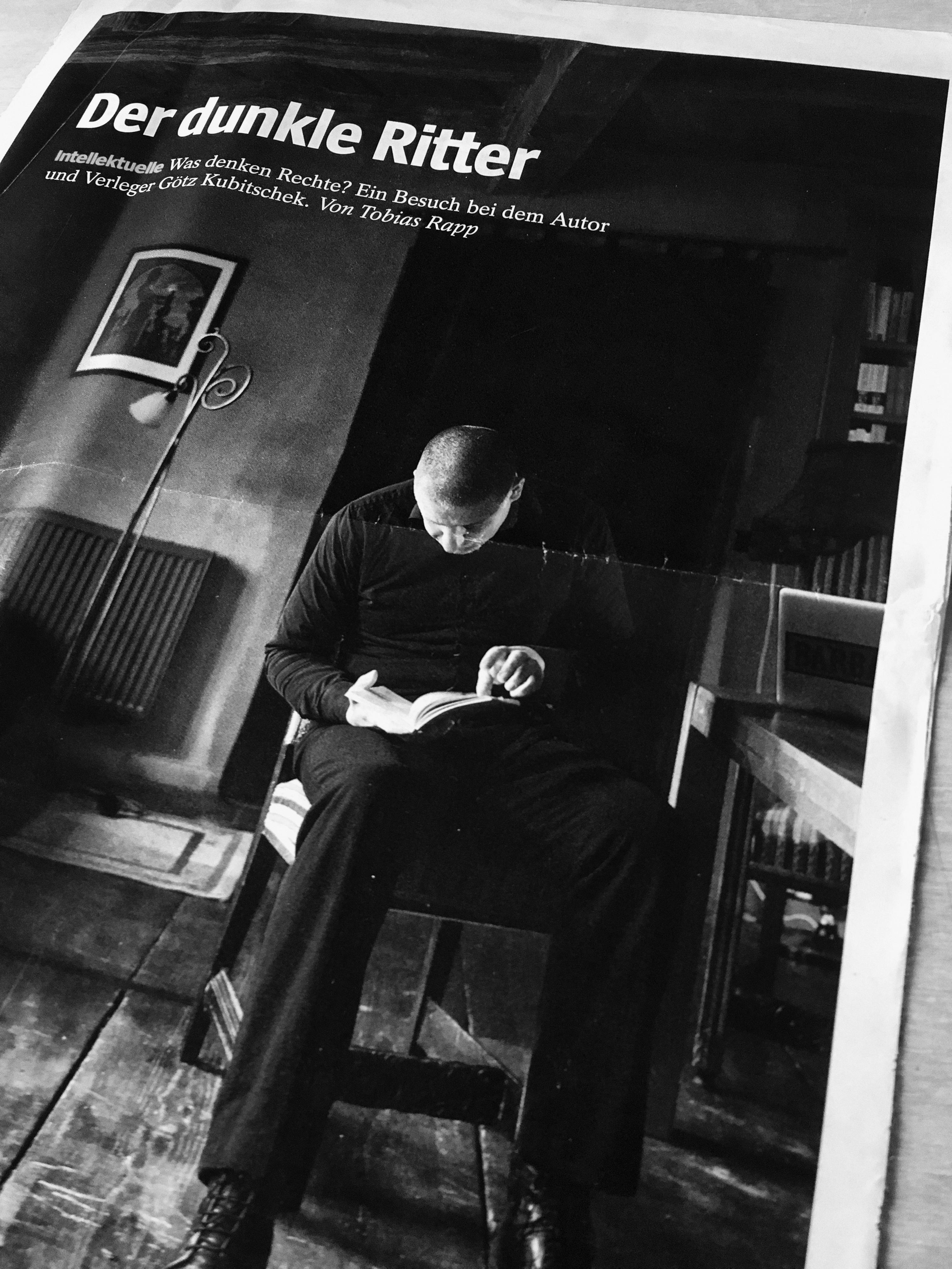 antifaschistisches Magazin der rechte rand - Götz Kubitschek