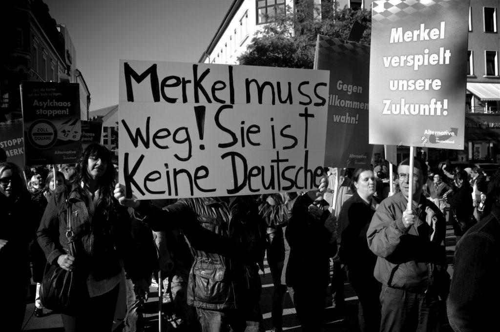 Aufmarsch der AfD im Oktober 2015 in Passau