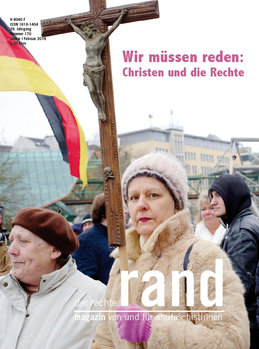 Antifaschistisches ´Magazin der rechte rand Ausgabe 170